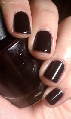 one of my go-to's: OPI Lincoln Park After Dark