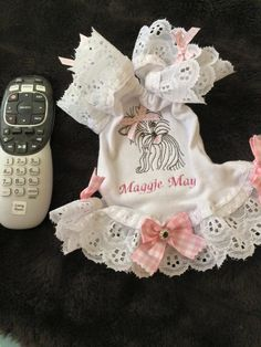 """Frilly """"Maggie May"""" nightgown"""
