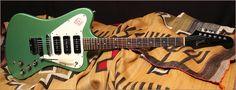 Gibson Firebird 1966 finish