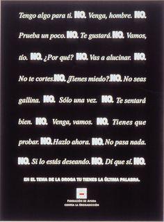 Campaña Atrévete, di no - 1993