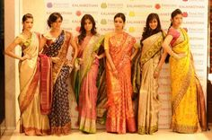 South India Fashion ~ Latest Blouse Designs 2020 - Page 4 2015 Fashion Trends, 2015 Trends, Kanchipuram Saree, Desi Clothes, Elegant Saree, Latest Sarees, South Indian Bride, Silk Sarees, Saris