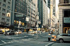 6th Ave...Manhattan life.