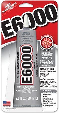 E6000 237032 Craft Adhesive, 2 fl oz Clear E6000