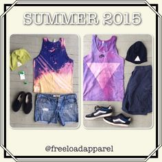 FREEload Apparel 2015 Summer Collection