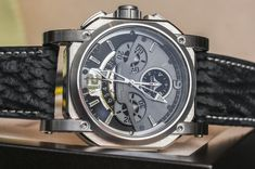 Visconti W105 2Squared Chronograph Watch