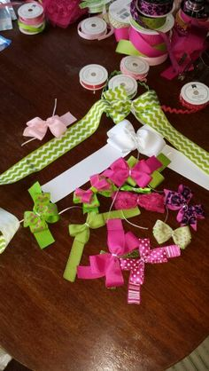 Bows to pair up