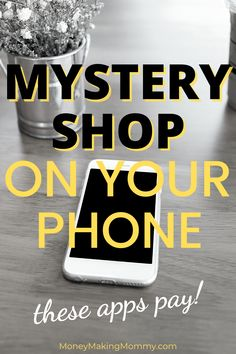 Make extra money doing mystery shops using these apps on your smartphone. You might be going to one of these retailers anyway! Why not take an extra 3-5 minutes and earn extra cash while you're in the store! This list of mystery shopping apps cuts to the chase and gives you the legitimate ones that actually pay! Cash in on doing short shops with just your phone! Work From Home Companies, Work From Home Opportunities, Work From Home Jobs, Earn Extra Cash, Making Extra Cash, Extra Money, Cash From Home, Make Money From Home, Make Money Online