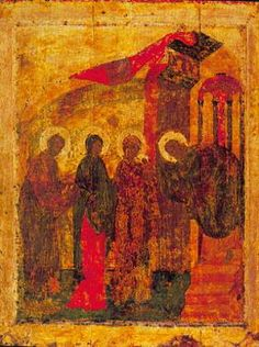 Andrei Rublev, Presentation of Jesus in the Temple, 1405