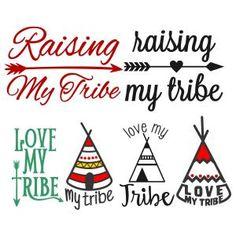 {FREE} Love My Tribe Svg Cuttable Designs
