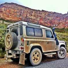 Land Rover Bullseye.