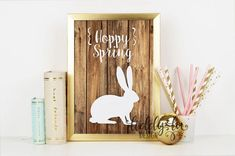 Hoppy Spring Bunny P