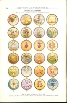 International art glass catalog : church