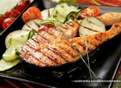 Czech Recipes, Snack Recipes, Snacks, Fish And Seafood, Grill Pan, Lchf, Bon Appetit, Grilling, Treats