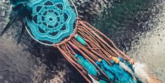 CROCHET PATTERN - Deadwood Mandala | Love, Aly Crochet Mandala, Mandala Pattern, Crochet Round, Free Crochet, To Leave Something Behind, Back Post Double Crochet, Bead Sewing, Yarn Sizes, Magic Circle