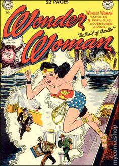 WONDER WOMAN 39, GOLDEN AGE DC COMICS-1950 Cover Art by: Irwin Hasen & Bernard Sachs
