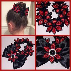 Gorgeous Customer Order - Black&Red Bun Wrap/