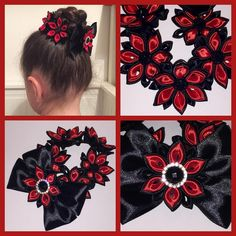 Gorgeous Customer Order - Black&Red Bun Wrap/
