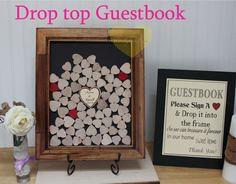 Custom 3D Wedding guest book alternative by stampshandmadeforyou