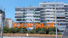 Reparação, isolamento e pintura de edifício com plataformas suspensas - Amadora