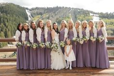 Lavender and Green Nature Inspired Utah Wedding