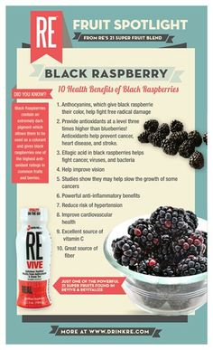 Black Raspberries They Not Only Taste Good But Are For