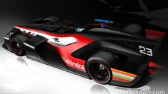 Mahindra Pininfarina Formula E concept C