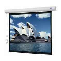 Da-Lite Designer Cinema Electrol Electric Projection Screen Viewing Area:
