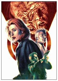 X-Files — The Post-Modern Prometheus by Valzonline #illustration #monster #poster