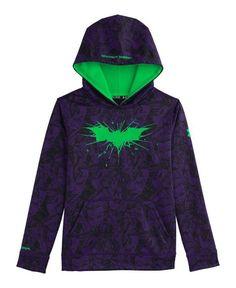 Batman Under Armour Hoodie - Dark Knight Logo