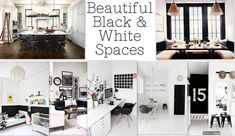 I am currently obsessed with interior designed black and white spaces. There's something about the stark contrast, paired with the fact that most of them are minimally done that makes my heart go pitter patter. I don't know where or why it all started, but I slowly saw them creeping into my pin boards and …