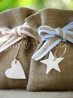Wedding Favors and Gifts Christening Favors, Baby Baptism, Favor Bags, Gift Bags, Goodie Bags, Theme Mickey, Baby Shawer, Lavender Bags, Burlap Crafts