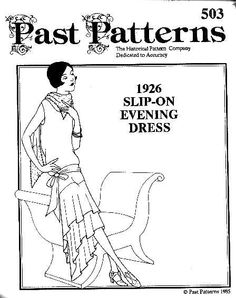 Patterns for period costumes for many eras