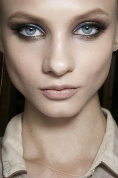 fashionsprose:  Makeup at Atelier Versace Couture S/S 2014