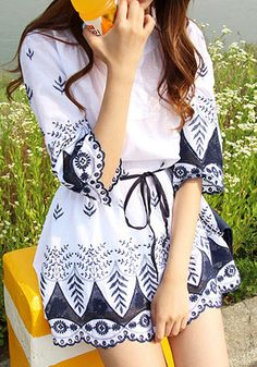 A breezy and flowy top is perfect for this season.