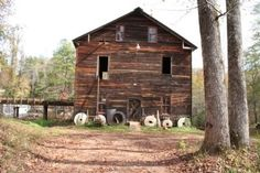 Bean's Mill:  In 1897 the first iron bridge in Lee County was built. In 1903 George W. Bean bought the mill, operating it until his death in 1952. About 1910 Bean installed an iron overshot wheel to replace the old turbine. Later, the dam height was raised two feet.  Near Salem & Opelika, Alabama