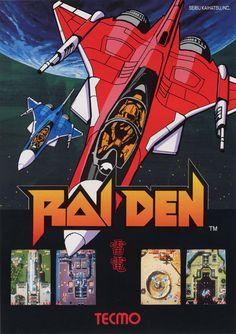 Raiden, Seibu Kaihatsu, Arcade, 1990.