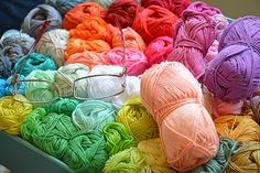 First bunny workshop session   one colourful blanket start