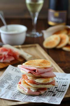 Tigelle modenesi Pancakes, Breakfast, Blog, Morning Coffee, Pancake, Blogging, Crepes