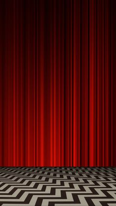 Red Room in Twin Peaks Red Blinds, Blinds For Windows, Red Wallpaper, Lock Screen Wallpaper, Twin Peaks Quotes, David Lynch Twin Peaks, Neon Noir, Cult, Red Rooms