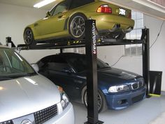 car lift make room for the whole family bmw m coupe m roadster