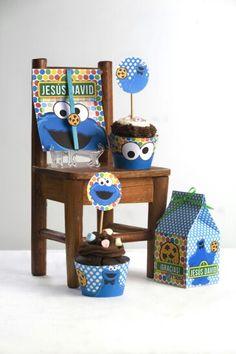Come galletas! Fiesta para los bebés! Temática! Todo para la decoración de su mesa!