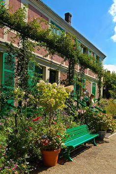 Maison de Claude Monet, Giverny, Haute-Normandie, France