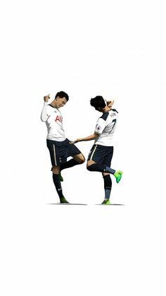 Football Is Life, Football Art, Sport Football, Football Player Drawing, Football Players, David Beckham Soccer, Tottenham Wallpaper, Lionel Messi Barcelona, Tottenham Hotspur Football
