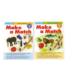 Another great find on #zulily! Make a Match Workbook Set #zulilyfinds