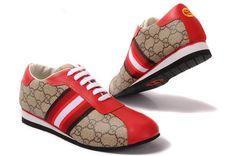 Gucci Women sneakers Beige GG Monogra