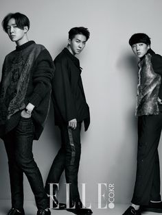 NAM TAEHYUN x SONG MINO x KANG SEUNGYOON x WINNER | ELLE MAGAZINE DECEMBER '14 ISSUE
