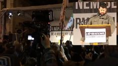 Puzsér Róbert beszéde a Jobbik melletti tüntetésen | 2017.12.15.