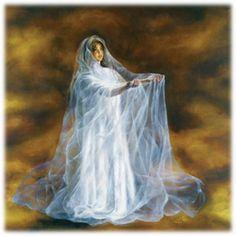 The Angel, Canvas Print by Akiane Kramarik @ www.art-soulworks.com