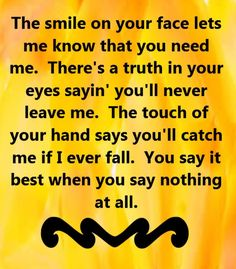 Originally sung by Keith Whitley. Covered by Alison Krauss - When You Say Nothing At All - song lyrics, song quotes, songs, music lyrics, music quotes,