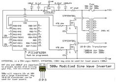 Electrical and Electronics Engineering: 500W Sine Wave Inverter